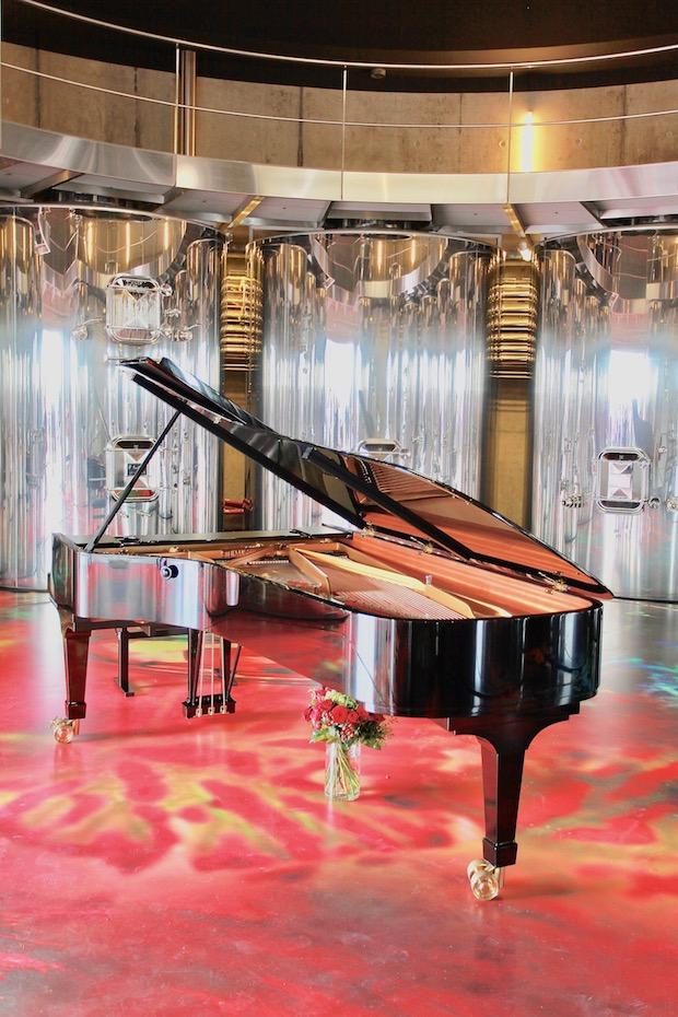 Chateau grace dieu des prieurs piano