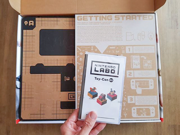 nintendo labo test kit vehicules avis blog jeux video