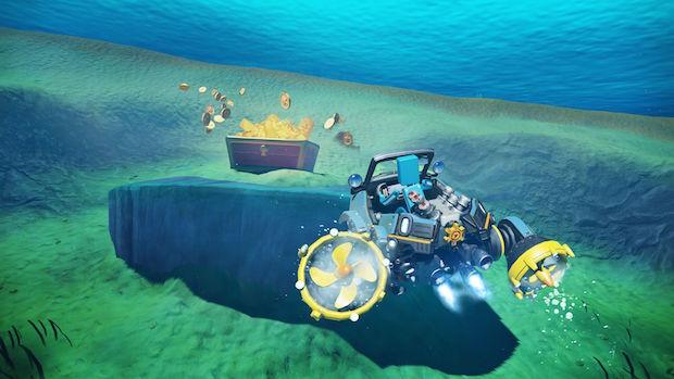 nintendo labo test kit vehicules avis sous marin