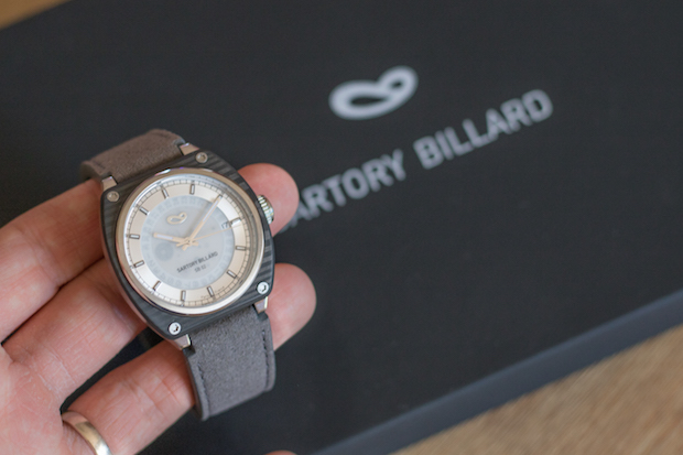 test montre sartory billard avis blog SB02 00
