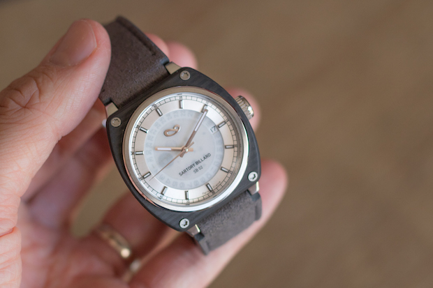 test montre sartory billard avis blog SB0202