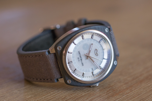 test montre sartory billard avis blog SB0203