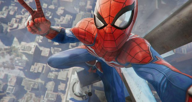 test spiderman ps4 blog jeux video