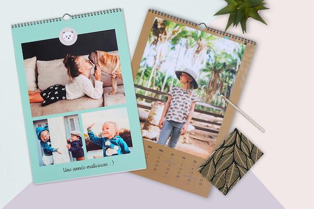 calendrier photo cadeau