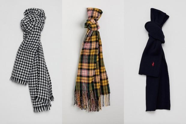 Le top 6 des écharpes pour l'hiver !
