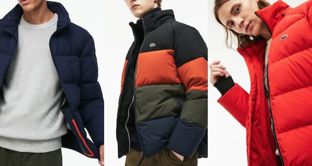 Veste Lacoste pour l'hiver – Notre sélection !