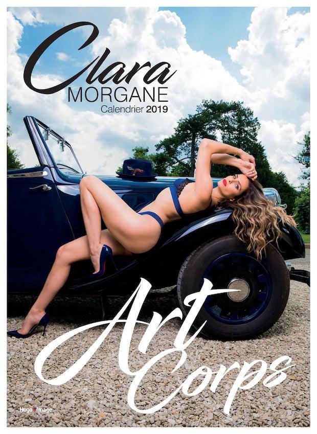calendrier clara morgane 2019 blog sexy