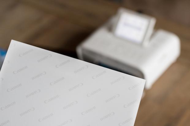 canon selphy cp1300 test avis imprimante photo papier