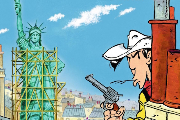 lucky luke a paris