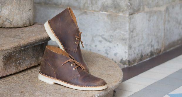 test clarks avis desert boots