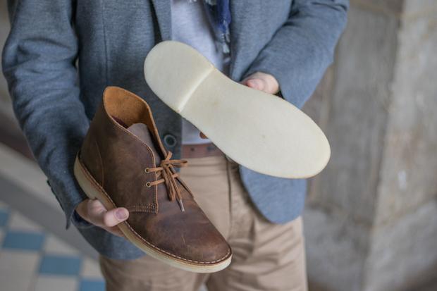 test clarks avis desert boots chaussure