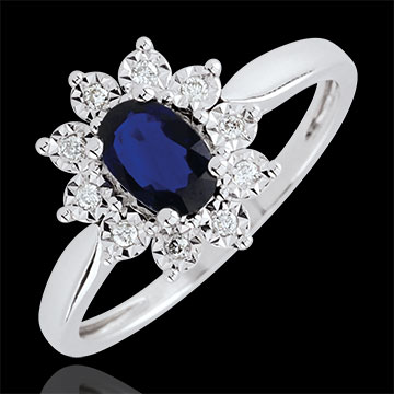 edenly bague-fiancailles-fleurs-femme-or-blanc-18-carats-saphir-bleu