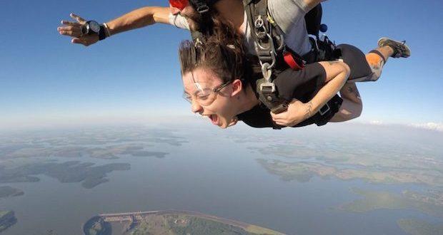 ouvrir box saut parachute
