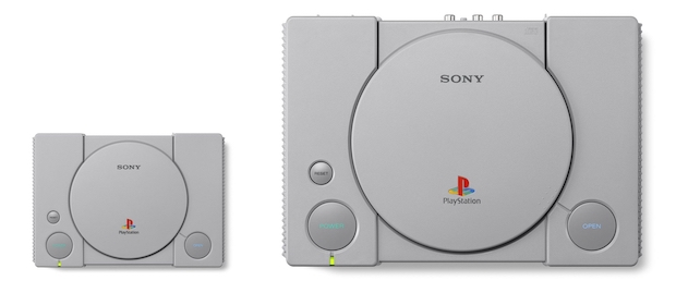 playstation classic taille