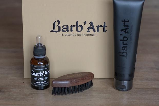 test barbart avis produit barbe coffret cadeau