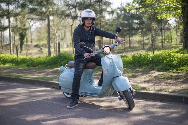 2 twenty scooter electrique vintage