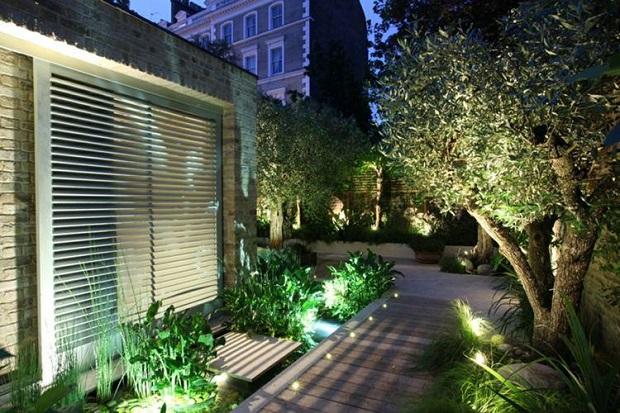 eclairage spot jardin idee deco meilleur eclairage