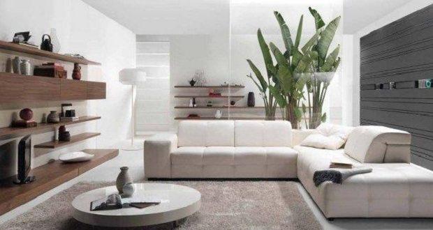 salon design et contemporain salon epure avec couleurs