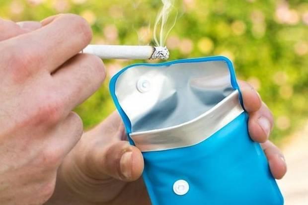 Le cendrier de poche : notre sélection !
