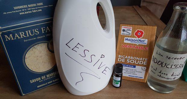 pourquoi faire lessive maison recette avantage