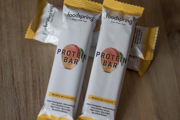 avis foodspring barre proteine