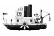 LEGO Steamboat Willie, Mickey sur son bateau !