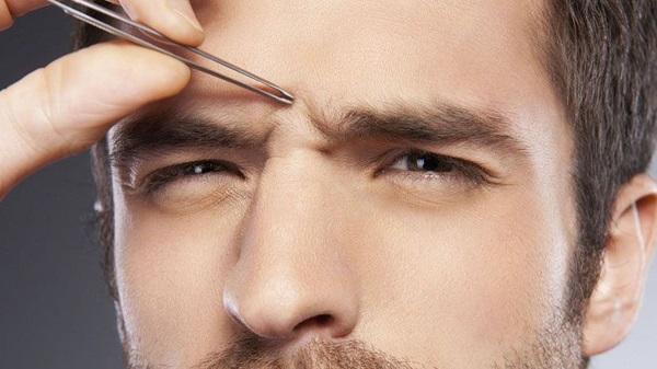 monosourcil routine du visage beaute homme epilation
