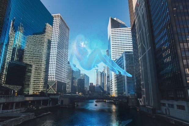 hologramme-city