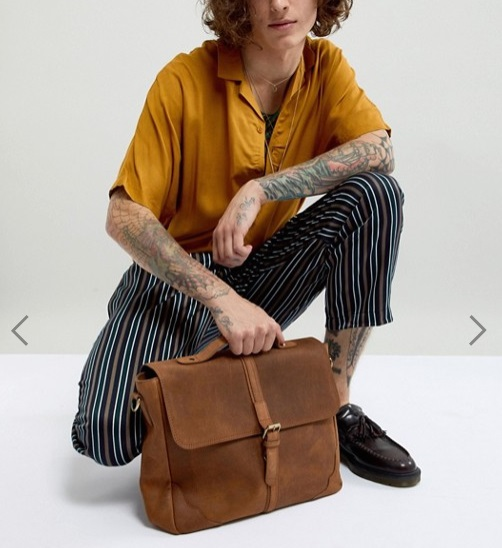 cartable vintage sac homme cuir look detail style accessoire indispensable