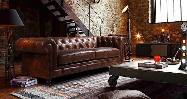 chesterfield canape qualite saulaie intemporel indemodable cuir