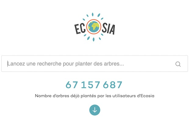 ecosia moteur de recherche eco responsable