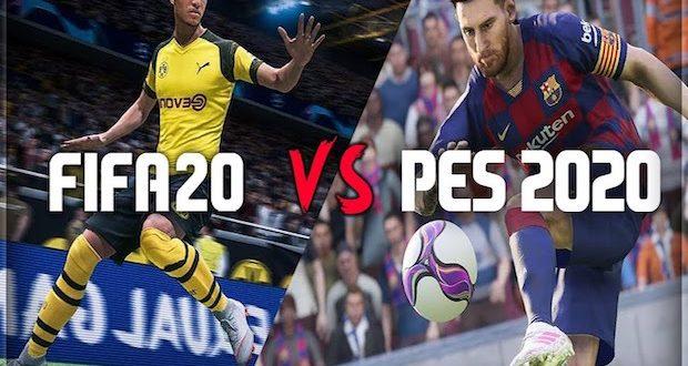 PES 2020 ou FIFA 20 ? Qui gagnera la bataille ?