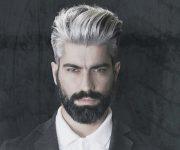 Cheveux hommes : osez la teinture grise !