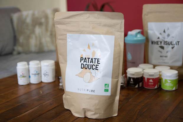 test avis nutripure farine patate douce