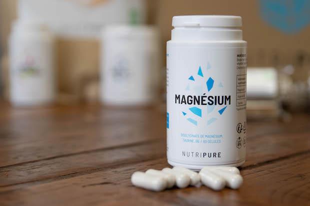 test avis nutripure magnesium gelule