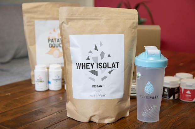 test avis nutripure whey proteine isolat
