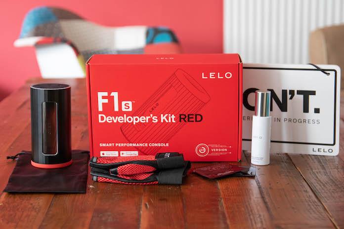 test avis f1s lelo masturbateur developers kit red boite