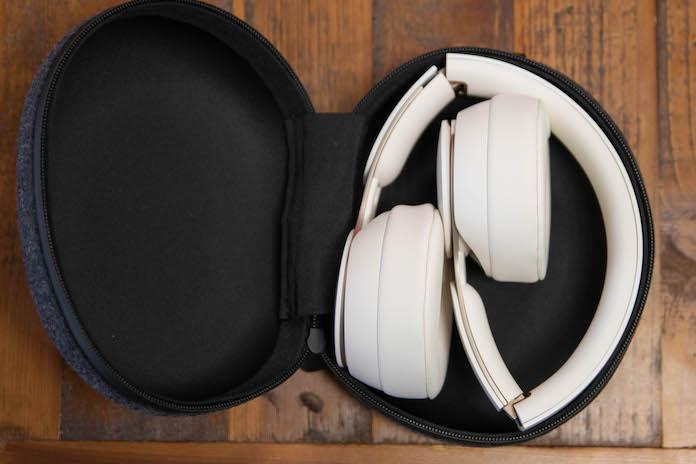 test beats solo pro casque rangement boite