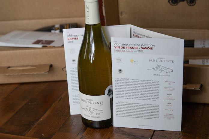 avis trois fois vin box coffret conseil blanc