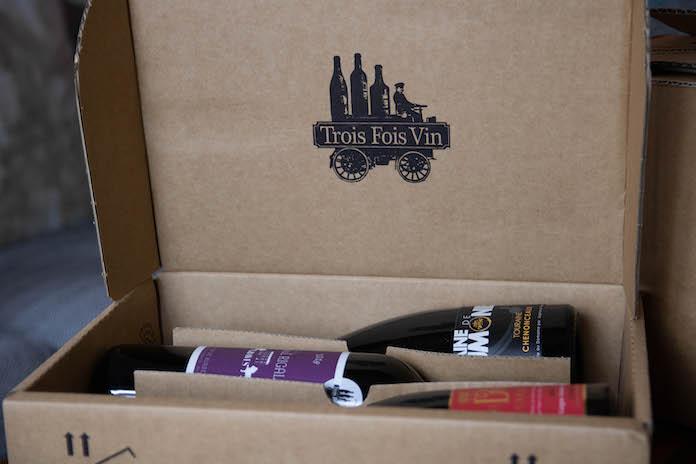 avis trois fois vin box coffret mensuel