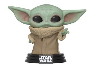 bebe yoda pop figurine the child mandalorian