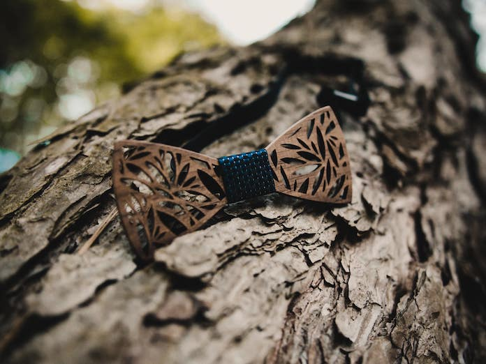 nordic wood noeud papillon en bois