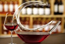 aerer decanter vin rouge