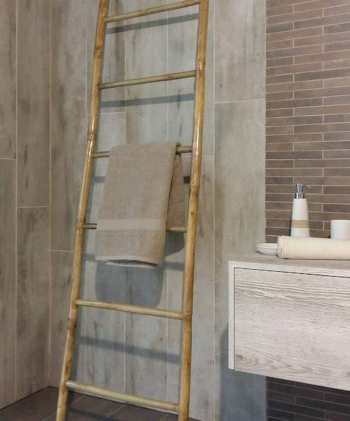 objet salle de bain homme deco porte serviette