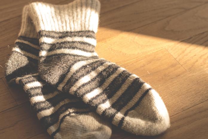 accessoire cozy coocooning chaussette homme