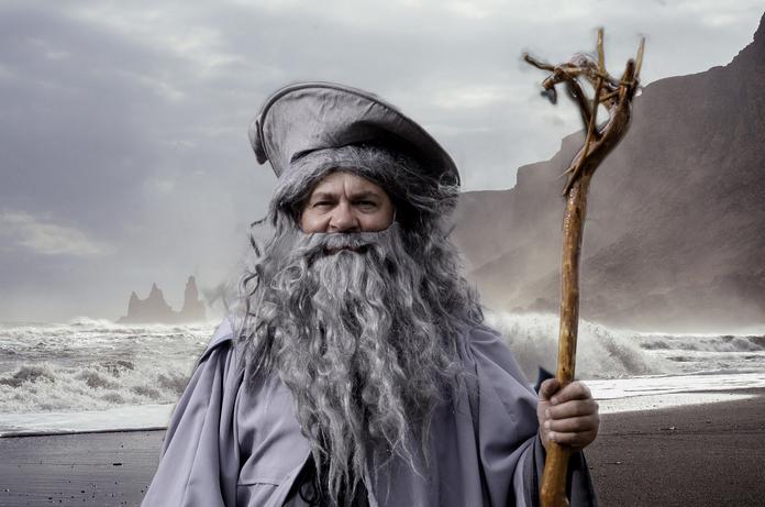 cosplay gandalf costume accessoires seigneur des anneaux hobbit lotr cape oreille bijoux perruque