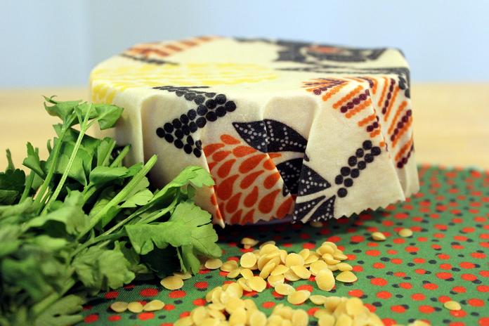 emballage cire d abeilles film alimentaire reutilisable cuisine zero dechet
