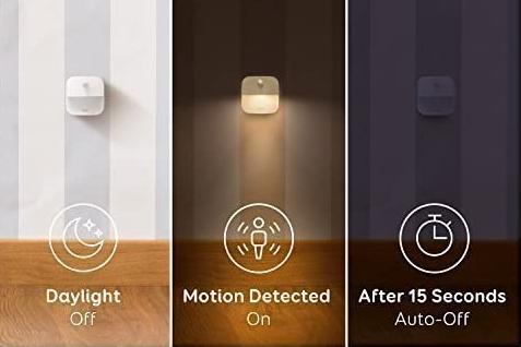 lampe automatique detecteur de mouvement veilleuse pas cher startup innovante