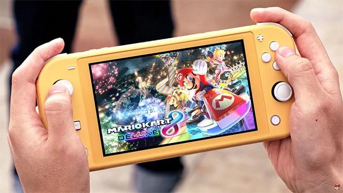 activite occupation adolescent enfant jeux videos nintendo switch light