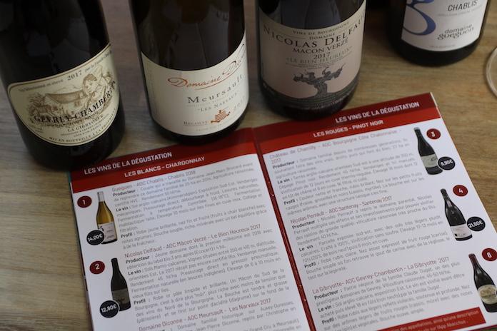 test avis abacchus degustation de vin loire